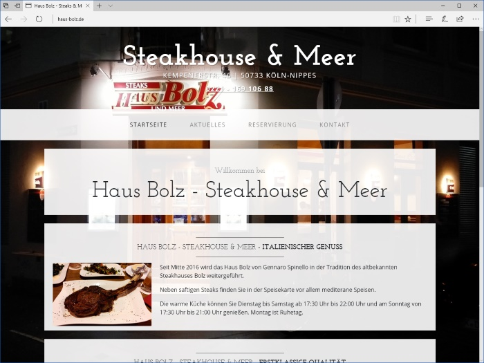 Haus Bolz - Steakhouse & Meer