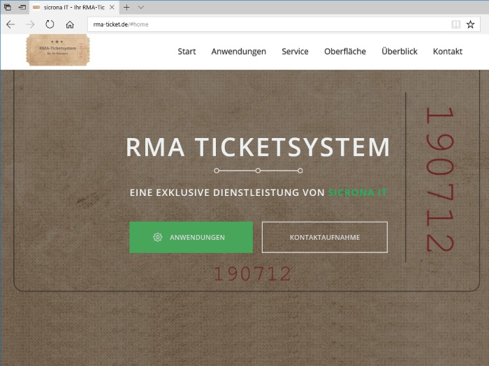 RMA-Ticketsystem